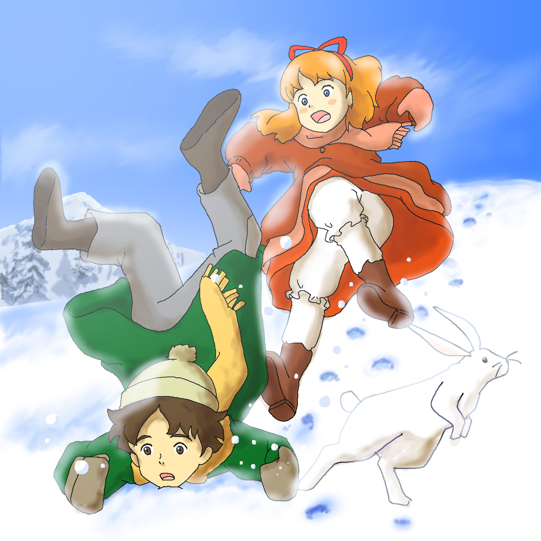 2011年賀(ロミオ&アニタ) illustrated by ある名作ファン
