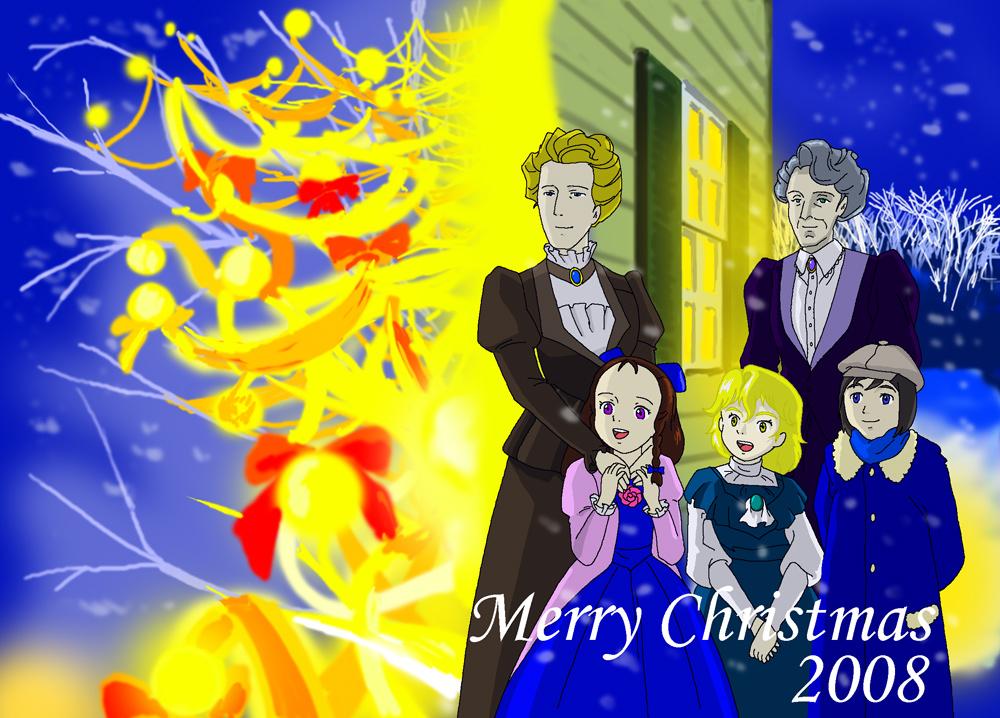 マレー家のクリスマス illustrated by ある名作ファン