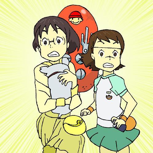 ヤサコ&フミエ illustrated by ある名作ファン