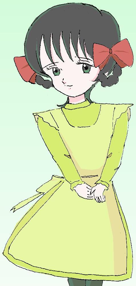 ダイアナ・バリー嬢 illustrated by 霧人