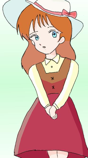 ペリーヌ・パンダボアヌ嬢 illustrated by 霧人