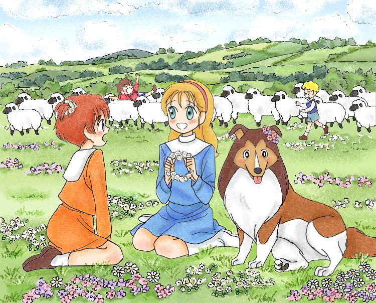 サンディ&プリシラ+ラッシー(2015春) illustrated by ねっつん