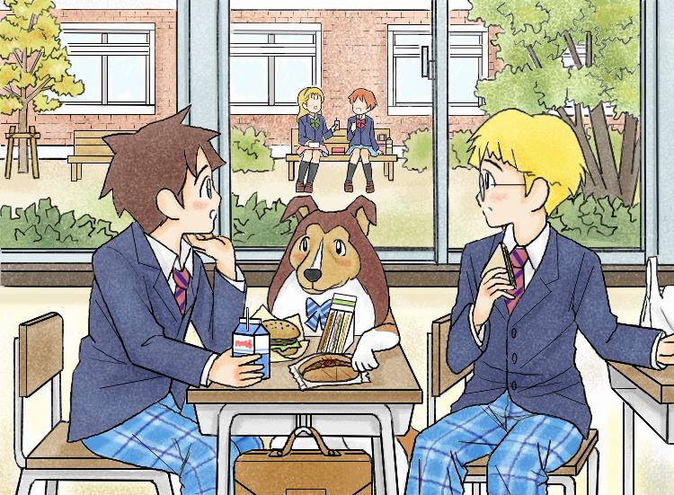 名犬ラッシー(2015秋) illustrated by ねっつん