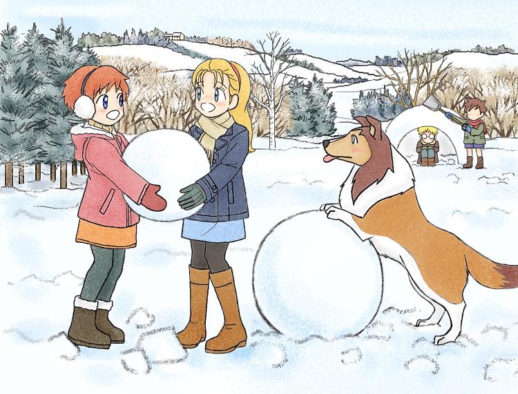 名犬ラッシー(2016冬) illustrated by ねっつん