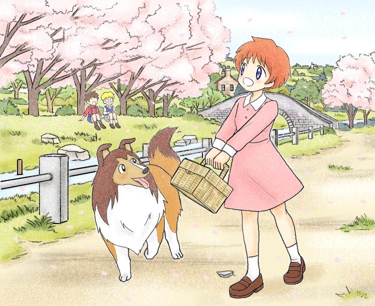 名犬ラッシー(2016春) illustrated by ねっつん