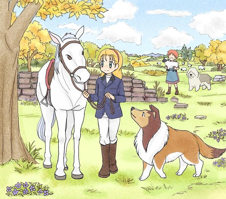 名犬ラッシー(2016秋) illustrated by ねっつん