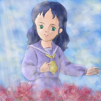 セーラと赤い花