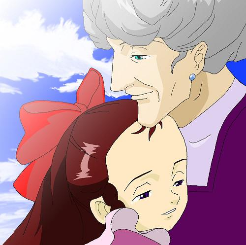 「私・・・本当はおばさんのことが大好きなんです!」